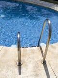 De ladders van de pool royalty-vrije stock foto