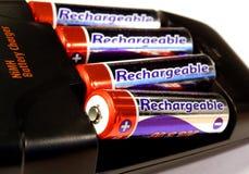 De lader van de batterij Stock Afbeeldingen