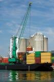 De lading van de container royalty-vrije stock foto's