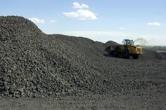 De Lading van de steenkool royalty-vrije stock afbeelding