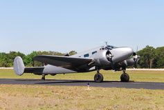 De ladingsvliegtuig van WO.II Stock Foto's