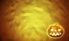 De lage polyachtergrond van Halloween Royalty-vrije Stock Foto