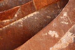 De lagen van het metaal Stock Afbeeldingen