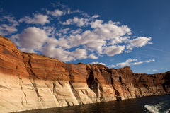 De lagere Canion van de Antilope in Pagina Arizona. Stock Afbeelding