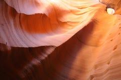 De lagere Canion van de Groef van de Antilope Stock Afbeelding