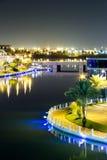 De Lagune, Bahrein Stock Foto