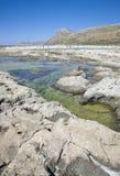 De Lagune van Balos, Gramvousa, Kreta, Griekenland Royalty-vrije Stock Afbeeldingen