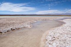De Lagune van Cejar, Chili royalty-vrije stock afbeeldingen