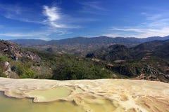 De lagune van de berg stock afbeelding
