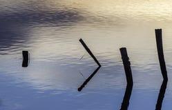 De lagune van de Comacchiovallei Royalty-vrije Stock Afbeeldingen