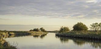 De lagune van de Comacchiovallei Royalty-vrije Stock Fotografie