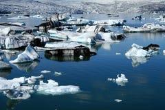 De Lagune van de gletsjer Stock Foto's