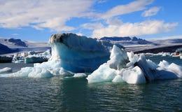De lagune van de gletsjer Stock Afbeelding