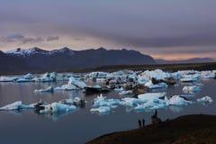 De Lagune van de Gletsjer van Jokulsarlon Royalty-vrije Stock Afbeelding