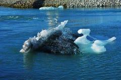 De Lagune van de Gletsjer van Jokulsarlon Royalty-vrije Stock Foto's