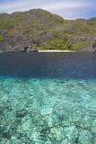 De lagune van Gr Nido Stock Fotografie