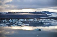 De Lagune van het ijs Stock Afbeeldingen