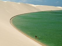 De lagune van het paradijs Royalty-vrije Stock Afbeelding