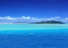 De Lagune van het paradijs Royalty-vrije Stock Foto