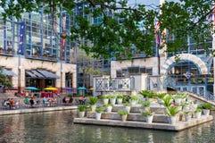 De Lagune van het riviercentrum op de Riviergang Royalty-vrije Stock Fotografie