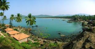 De lagune van het Strand van Palolem, Goa Royalty-vrije Stock Afbeelding