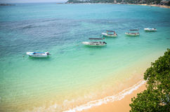 De lagune van Indische Oceaan Royalty-vrije Stock Afbeeldingen