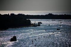 De lagune van Venetië Stock Foto's