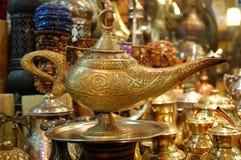 De lamp van Aladin! Stock Fotografie