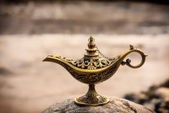 De lamp van Alladin Royalty-vrije Stock Foto