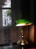 De Lamp van de bankier Stock Fotografie