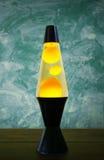 De Lamp van de lava royalty-vrije stock foto's