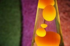 De Lamp van de lava Stock Fotografie
