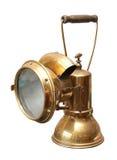 De lamp van de mijnbouw Stock Foto's