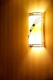 De lamp van de muur Royalty-vrije Stock Foto's