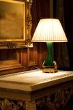 De lamp van de nacht Stock Foto's
