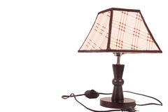 De lamp van de nacht Stock Fotografie