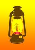 De Lamp van de nacht Stock Foto