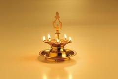 De lamp van de olie Stock Foto's