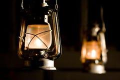 De lamp van de olie Stock Afbeelding