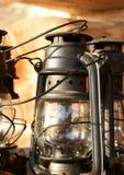 De lamp van de paraffine Stock Foto