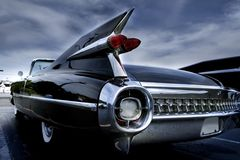 De Lamp van de staart van een Klassieke Auto Stock Afbeeldingen