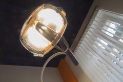 De lamp van de tandartsstoel stock foto
