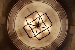 De Lamp van de tegenhanger stock foto's