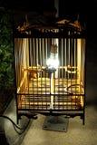 De lamp van de vogelkooi Royalty-vrije Stock Fotografie