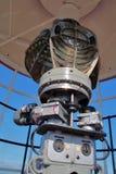 De lamp van de vuurtoren Royalty-vrije Stock Foto's