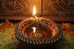 De lamp van Diwali Stock Afbeeldingen
