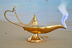 De lamp van Genies royalty-vrije stock foto