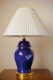 De Lamp van het bed Stock Fotografie