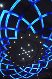 De lamp van het de vormplafond van de bloem Stock Foto's