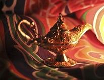 De Lamp van het genie Stock Foto